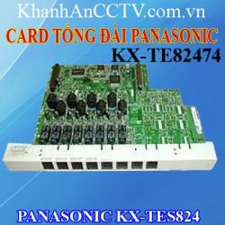CARD KX-TE82474 DÙNG CHO TỔNG ĐÀI PANASONIC KX-TES824
